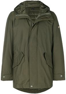 Woolrich long military eskimo coat - Green