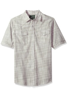 Woolrich Men's Altitude Ii Short Sleeve Modern Fit Shirt