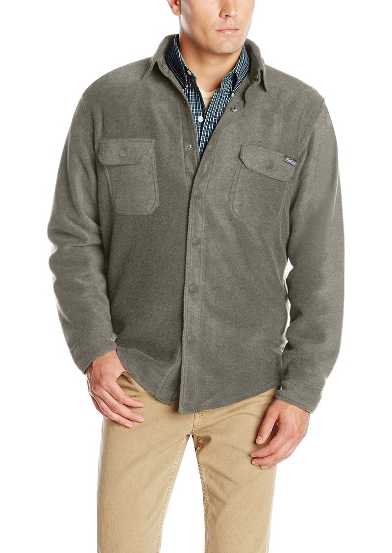 woolrich woolrich men 39 s andes fleece shirt jacket casual. Black Bedroom Furniture Sets. Home Design Ideas