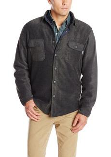 Woolrich Men's Andes Fleece Shirt Jacket Outerwear -