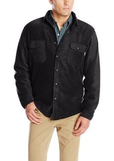 Woolrich Men's Andes Fleece Shirt Jacket Outerwear black