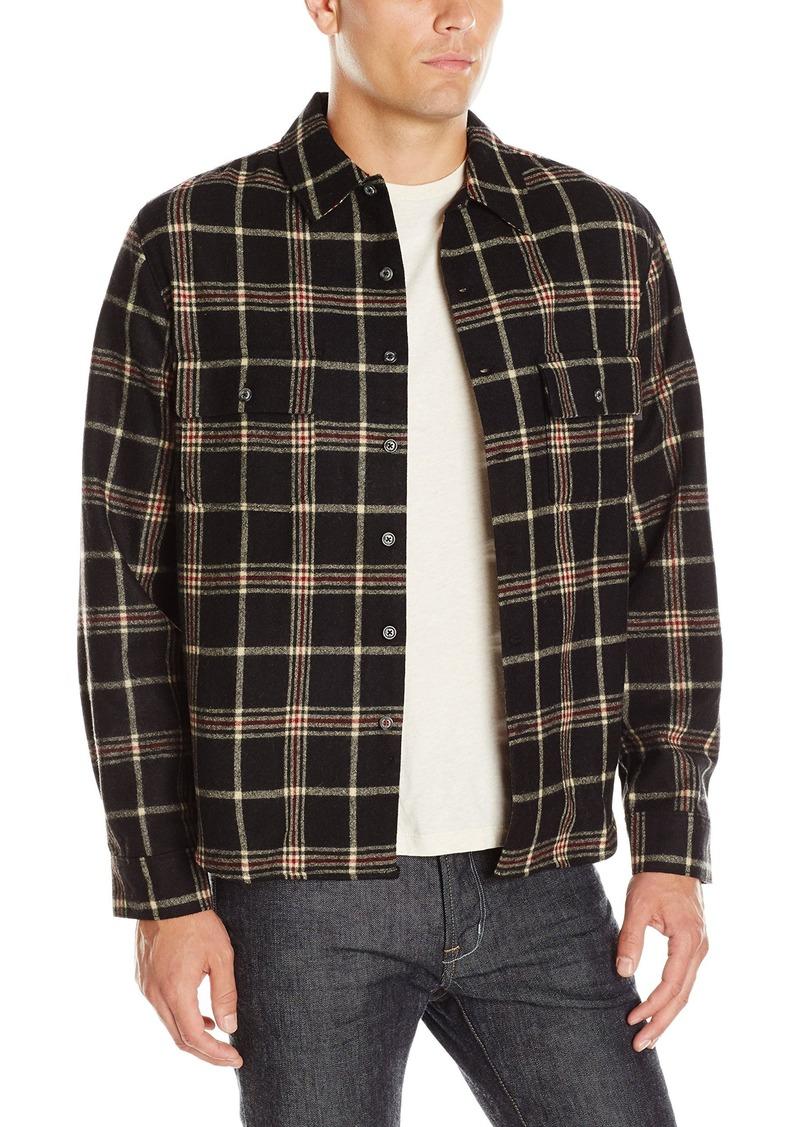 Woolrich Men's Andes Printed Fleece Jacket