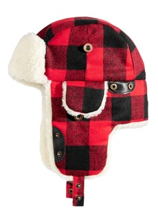 Woolrich Men's Buffalo Plaid Trooper Hat