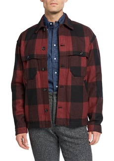 Woolrich Men's Buffalo Stag Over Shirt