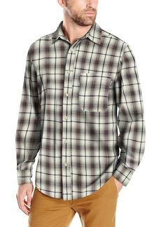 Woolrich Men's Cedar Springs Textured Flannel Shirt
