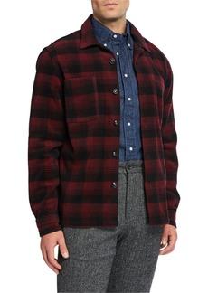 Woolrich Men's Classic Shirt Jacket