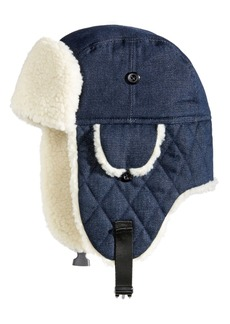 Woolrich Men's Denim Trooper Hat, Created for Macy's