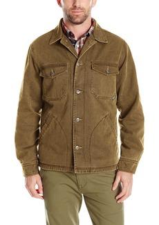 Woolrich Men's Dorrington Twill Shirt Jacket Outerwear