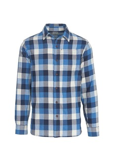 Woolrich Men's Eco Rich Indigo-Look Shirt