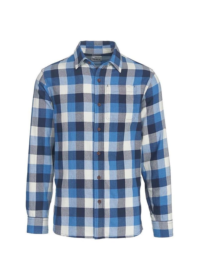d5da37d573f5c4 Woolrich Woolrich Men's Eco Rich Indigo-Look Shirt | Casual Shirts