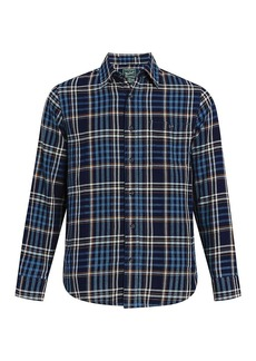 Woolrich Men's Eco Rich Indigo Shirt