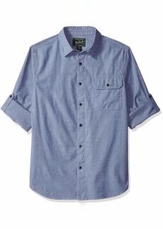 Woolrich Men's Eco Rich Midway Convertible Modern Fit Shirt