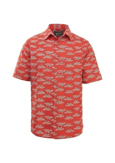 Woolrich Men's Eco Rich Modern Fit Walnut Springs Shirt