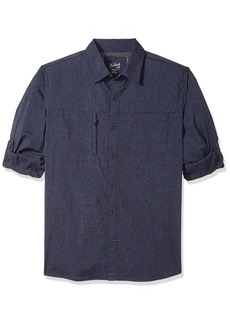 Woolrich Men's Expedition Canyon Convertible Modern Fit Shirt