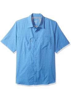 Woolrich Men's Expedition Canyon Short Sleeve Modern Fit Shirt