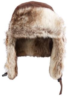 Woolrich Men's Faux-Fur Trooper Hat, Created for Macy's