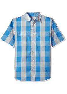 Woolrich Men's Keep It Moving Short Sleeve Modern Fit Shirt