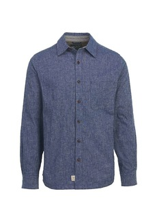 Woolrich Men's Mainroad Eco Rich Long Sleeve Modern Shirt