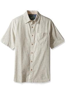 Woolrich Men's Mainroad Eco Rich Modern Fit Short Sleeve Shirt
