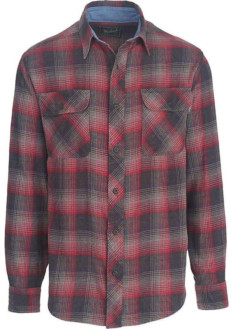 Woolrich woolrich men 39 s miners wash flannel shirt shop for How to wash flannel shirts