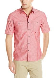 Woolrich Men's Modern Fit Route 99 Short Sleeve Shirt