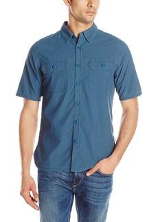 Woolrich Men's Modern Fit Windwood Short Sleeve Shirt