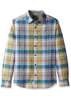 Woolrich Men's Oak View Long Sleeve Eco Rich Modern Fit Shirt