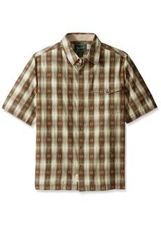 Woolrich Men's Overlook Dobby Eco Rich Modern Fit Shirt