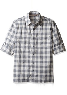 Woolrich Men's Performance Convertible Modern Fit Shirt