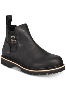 Woolrich Men's Skookum Waterproof Leather Chelsea Boots Men's Shoes