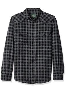 Woolrich Men's Southfield Space Dye Flannel Shirt Modern Fit  XXLarge