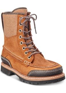 Woolrich Men's Squatch Waterproof Leather Boots Men's Shoes