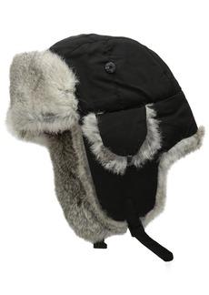 Woolrich Men's Supplex Wool Aviator Hat