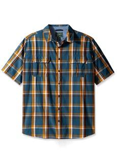 Woolrich Men's Tall Size Midway Yarn Dye Shirt Long