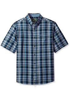 Woolrich Men's Timberline Short Sleeve Shirt deep Indigo