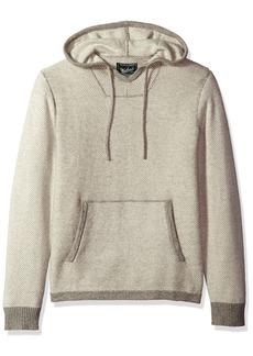 Woolrich Men's Twill Baja Hooded Merino Sweater  XXLarge