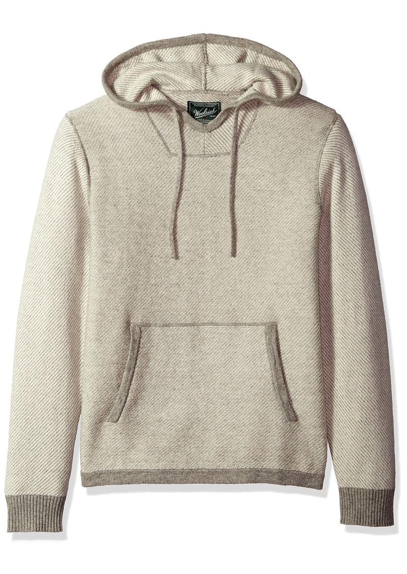 Men's Twill Baja Hooded Merino Sweater XXLarge