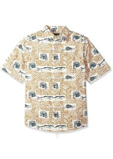 Woolrich Men's Walnut Springs Printed Shirt
