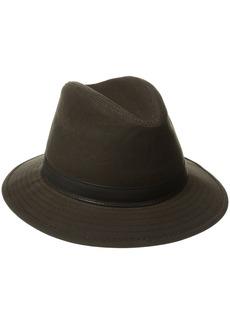 Woolrich Men's Wax Cotton Safari Hat