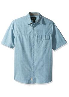 Woolrich Men's Zephyr Ridge Solid Modern Fit Shirt  X-Large