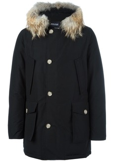 Woolrich multi-pocket parka coat - Black