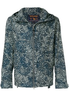Woolrich paisley print hooded jacket