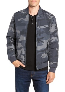 Woolrich Reversible Camo Down Bomber Jacket