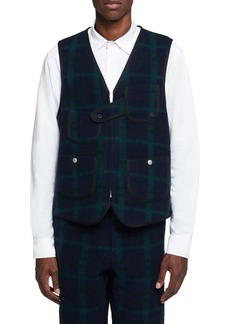 Woolrich Wool Plaid Hunting Vest