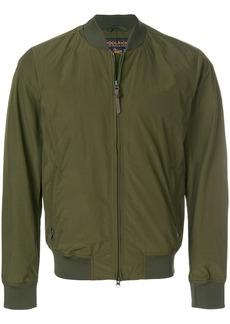 Woolrich zipped bomber jacket - Green
