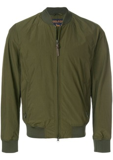 Woolrich zipped bomber jacket