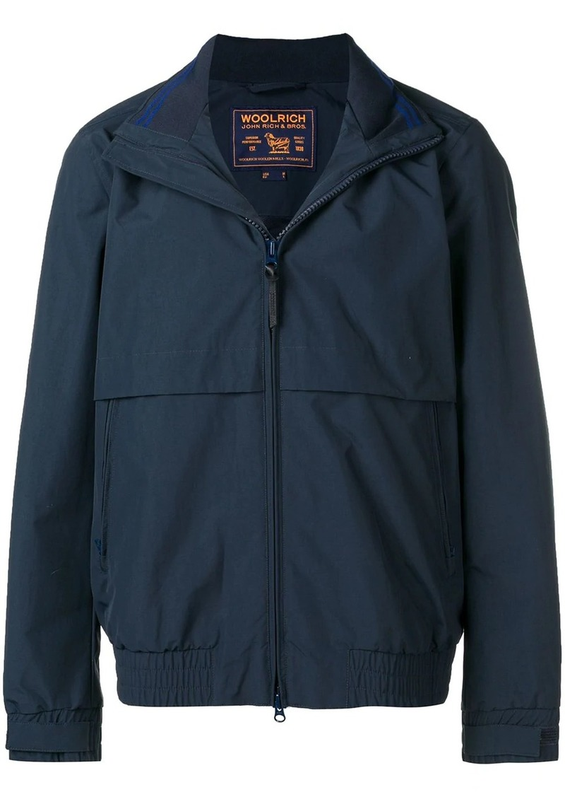 Woolrich zipped fitted jacket