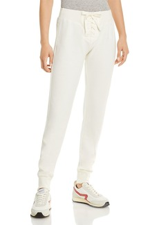 WSLY EcoSoft Lace Up Jogger Pants