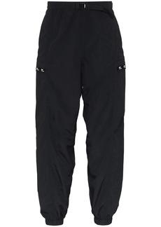 WTAPS elasticated waistband track trousers