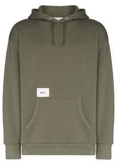 WTAPS logo-print hoodie